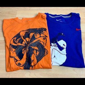 Nike Shirts - Nike Men's The Nike Tee x2